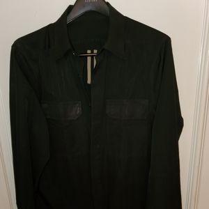 Rick Owens shirt sz xl